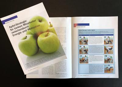 """A.P.F.E.L.-Strategie® in der """"wirtschaft+weiterbildung"""" im April 2012"""