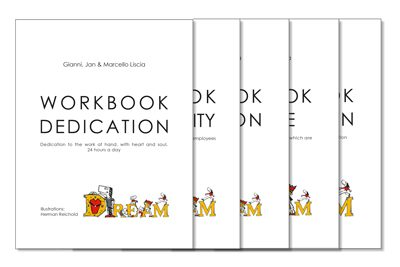 Strike five, they're out! Five D.R.E.A.M. of LEADERS workbooks are now available!