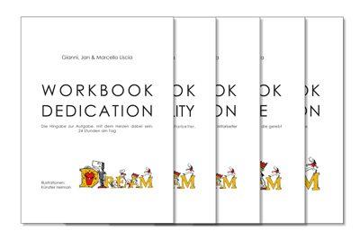 Fünf auf einen Streich – Auf das erste Buch folgen fünf Workbooks!